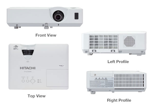 CP X3041WN detail lampulcdproyektor Lampu Projector Hitachi CP X3041WN| Service Projector
